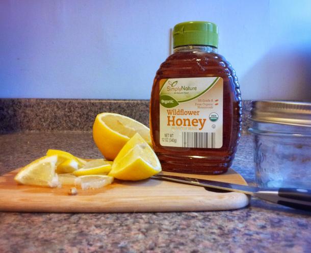 Honey Tea Ingredients